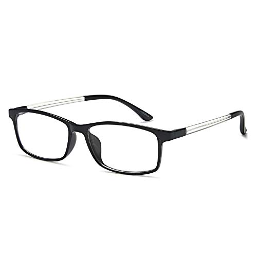 VVDQELLA Lesebrille 1,75 Blau Licht blockierende Computer Brille Vintage TR90 Unisex Männer Frauen für UV-Anti-Eye Fatigue