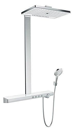 hansgrohe Rainmaker Select 460 Duschsystem, 3 Strahlarten, Weiß/Chrom