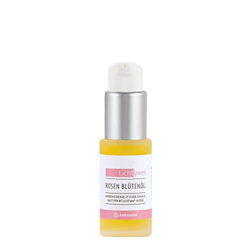 Rosenblütenöl Körperöl Gesichtsöl Pflegeöl Rosen Kosmetik Pflege Demeter Bio Lichtyam® Naturkosmetik Biokosmetik vegan Gesichtspflege Körperpflege, Inhalt:30 ml