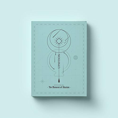 UP10TION - The Moment of Illusion [Moment ver.] (8th Mini Album) CD+88p Photobook+Photocard+Clear Photocard+Folded Poster
