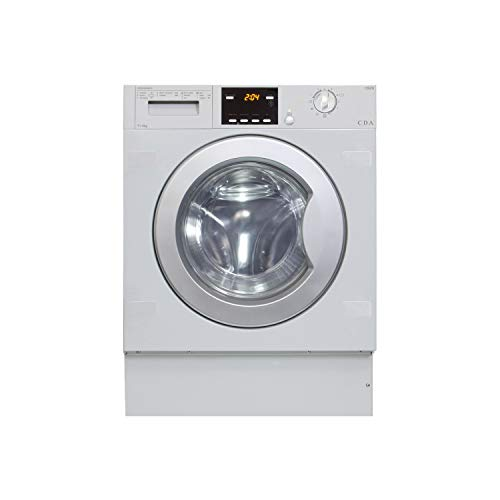 CDA CI926 7kg Wash 4kg Dry 1200rpm Integrated Washer Dryer - White