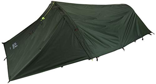 Jack Wolfskin GOSSAMER II FR lightweight minimalistic 2 Person hiking tent with removable fly, repair kit included