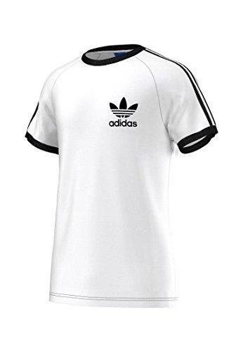 adidas T-Shirt Originals Sport Essentials tee - Camiseta, Color Blanco, Talla l