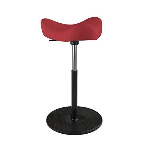 Varier ergonomische kruk 43x43x87 cm Rood