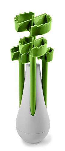 Betty Bossi Veggie Drill - der perfekte Gemüseausstecher für jedwedes Obst und Gemüse – Küchenhelfer mit dem selbst das Kürbis aushöhlen zu einem Kinderspiel Wird.