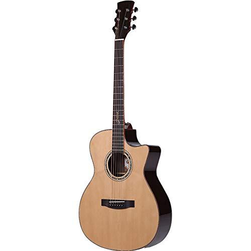 NUYI 41-Zoll-Akustikgitarre Fichte Furnier-Gitarre Mahagoni-Anfängergitarre