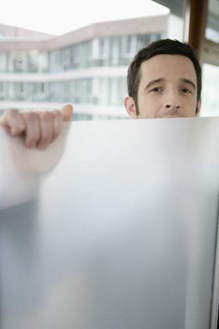 SOLAR-TEC Original Sichtschutzfolie seidenmatt Milchglasfolie Selbstklebende Folie für die Innenmontage (76 x 300cm) ohne Zubehör