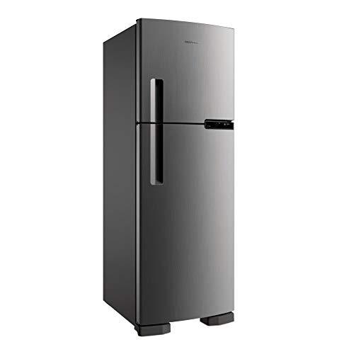 Geladeira Brastemp Frost Free Duplex 375 litros cor Inox - 220V