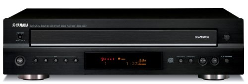 Yamaha CDC-697BL 5-Disc Carousel-Type CD Changer (Discontinued by Manufacturer)