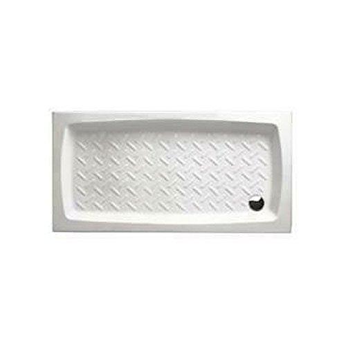 Plato de ducha de porcelana 80 x 140 cm, altura 11 cm Althea cerámica