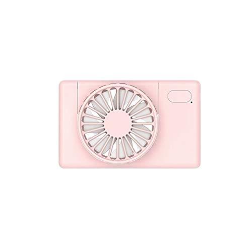 NOBRAND No Noise USB portátil Recargable Mini Ventilador del Ventilador pequeño Cuello Fan de Deportes del Escritorio de Manos de Aire del refrigerador del acondicionador