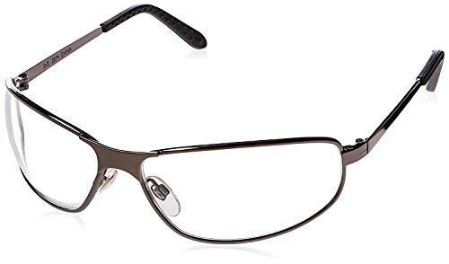 Uvex by Sperian Tomcat (R) Metall Schutzbrille mit Gunmetal Rahmen und klar Polycarbonat Anti-Fog Objektiv