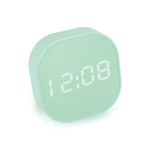 BestCool Keukentimer, digitale wekker, mini-eierwekker, countdown-klok met LCD-display, verzonken voet en adsorbeerbare achtergrond Multifunctionele keukenklok voor keuken, slaapkamer