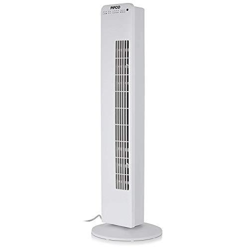 Pifco Portable Oscillating Pedestal Fan with Adjustable Tilt