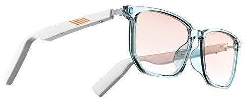 さまざまなスマートデバイスと互換性のあるサングラス、スマートBluetooth 5.0オーディオゲーミングメガネ、効果的な青色光と紫外線 black sunglasses LHAHGLY