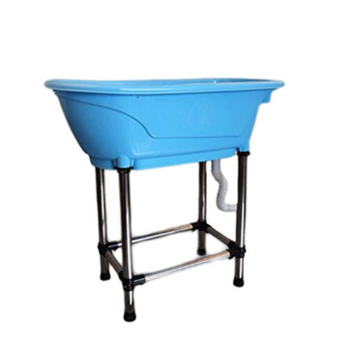 Standing Boat Elevated Folding Pet Bath Tub
