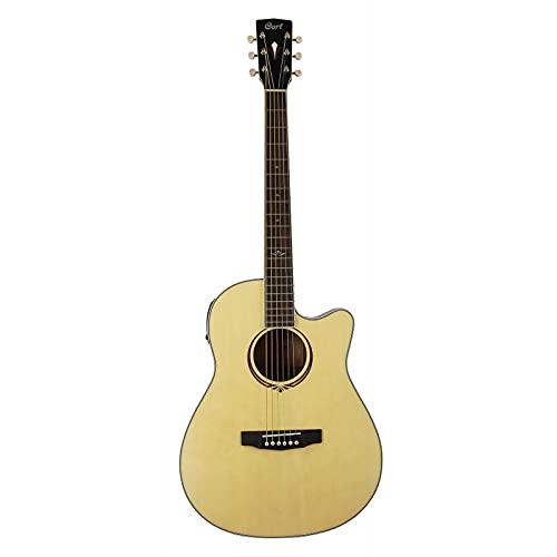 Cort MJ-MEDXNAT - Guitarra electroacústica MJ-MEDX natural brillante