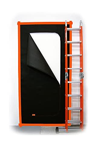 SafeCore Porta Tessuto Antipolvere Durante la Ristrutturazione Cerniera Lampo, 110 x 220 ccm