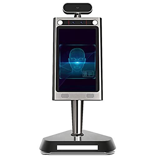 Temperatura corporal Cámara de reconocimiento facial IP Cámara térmica de seguridad térmica Detección humana térmica Control de acceso La cara reconoce la cámara de la tableta infrarroja para la entra