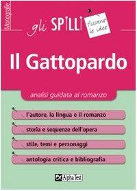 Il Gattopardo. Analisi guidata al romanzo