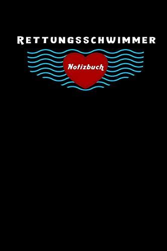 Rettungsschwimmer Notizbuch, Reise Tagebuch: Liniert, Planner Mit Extra Packliste Zum Abhaken, 6X9 Zoll (Ca. Din A5), Für Männer, Frauen, Mädchen, Ideales Geschenk