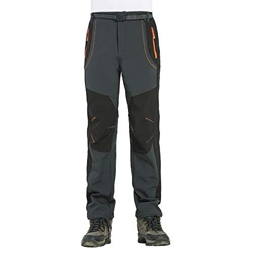 Cardith Couple Waterproof Windproof Thick Pants Hiking Men Outdoor Warm Winter Trousers