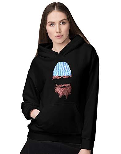 BLAK TEE Damen Lumberjack Beard and Beanie to Rule Them All Kapuzenpullover XL