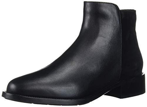 Aquatalia Women's Bootie Ankle Boot, Black/Black, 6.5