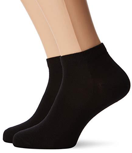 FALKE Herren Sneakersocken Happy - 85% Baumwolle, 2 Paar, Schwarz (Black 3000), Größe: 47-50