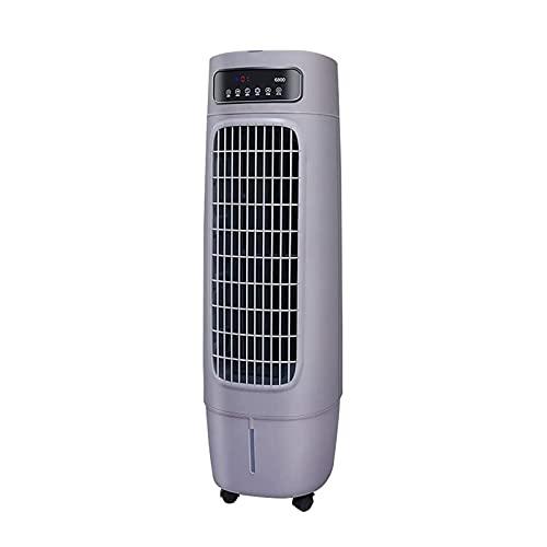 WECDS Enfriador De Aire Acondicionador De Aire Portátil con Función De Enfriamiento, Ventilador De Enfriamiento por Agua Área Aplicable 15~25㎡, Volumen De Aire 6000 (Color: Gris)