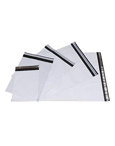 100x Plastik Versandtasche 260x 350 mm selbstklebend blickdicht Versandtüte Warenbeutel Plastikbeutel Folienbeutel Folienversandtasche Kurierumschlag Versandbeutel aus Folie für Kleidung, Textilien