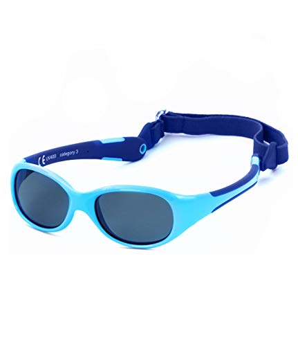 Kiddus Gafas de Sol de UNA SOLA PIEZA para Bebés a partir...