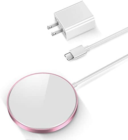 THREEKEY Magnetic Wireless Charger 15W Fast Charging Pad with USB C 20W PD Adapter Compatible product image