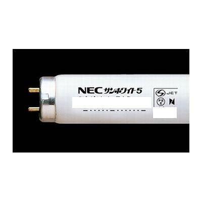 NEC 直管蛍光灯 サンホワイト5 グロースタータ形 40W 昼白色 FL40SN