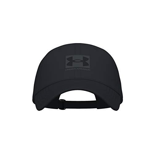Under Armour Men's Branded Hat , Black (001)/Black , One Size Fits Most