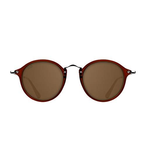 D. Franklin Roller TR90 Gafas de sol, Marron, 48 Unisex