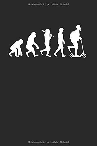 E-Scooter Evolution   Notizheft/Schreibheft: E-Scooter Notizbuch Mit 120 Gepunkteten Seiten (Dotgrid). Als Geschenk Eine Tolle Idee Für Scooter Fans