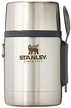 Stanley Classic Legendary Vacuum Insulated Food Jar 18 oz – Stainless Steel Naturally BPA-Free Container – Keeps Food/Liquid Hot or Cold for 15 Hours – Leak Resistant Easy Clean