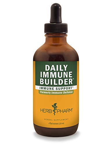 Herb Pharm Daily Immune Builder Herbal Immune System Defense - 4 Ounce