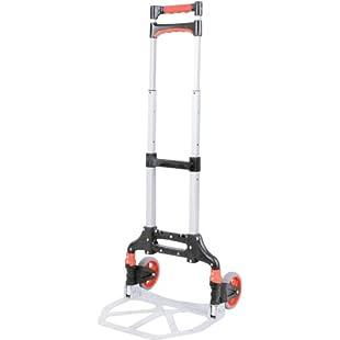Neat Light Weight Easy Fold Up Aluminium Folding Sack Barrow / Cart / Trolley:Cnsrd