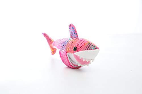 Shark Arm Huggers Knuffeldier Kinderspeelgoed, Klaparmband Knuffels, Zachte Squishy-Cadeaus Voor Kinderen Baby-Polsband 20 Cm