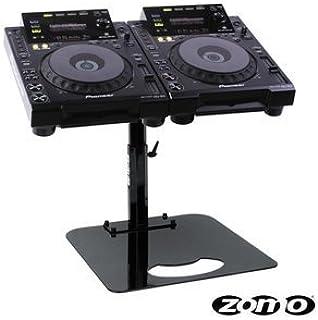 Zomo Pro Stand P de 900/2Negro para 2x CDJ de 900
