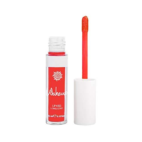 Wakeup Cosmetics Gloss-lacca a lunga durata sino a 6 ore, Lip Kiss Long Stay, Cherai