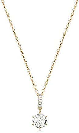 Mestige Golden Anika Necklace with Swarovski® Crystals, Gift