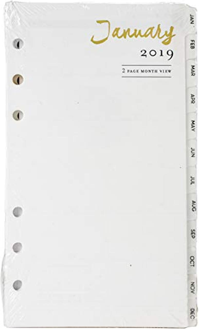 Webster's Pages 2019 Personal Size Dated Calendar