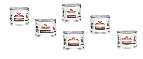 Royal canin 6 scatolette da 195 gr gastrointestinal Puppy per Cani Cuccioli Cibo Umido Mousse per Problemi intestinali diarree Cane