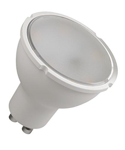 Les emos zq8361 Ampoule LED a +, Classic MR16, blanc neutre, verre, 8 W, GU10, transparent, 5 x 5,6 cm