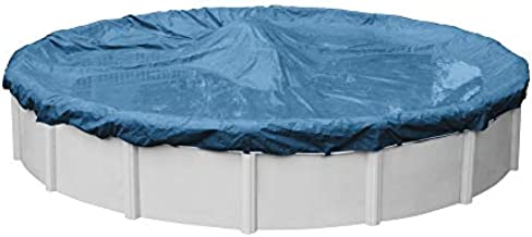 Robelle 3515-4 Super Winter Pool Cover for Round Above Ground Swimming Pools, 15-ft. Round Pool