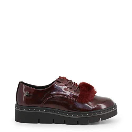 'Zapato DE Mujer XTI Plano con Cierre DE Cordones Oxford' - para: Mujer Color: Burdeos Talla: 35