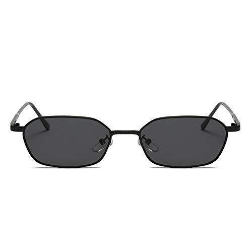 Bomoka Gafas de sol, 2 gafas de sol con llama, sin espejo con metal, gafas unisex, gafas de sol de moda personalidad, estuche de regalo (tamaño 01)